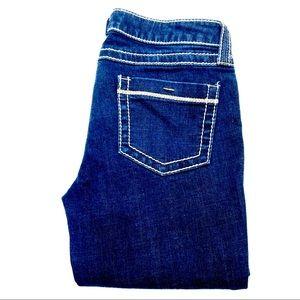 Blue Asphalt Women's Juniors Boot Cut Jeans Size 7